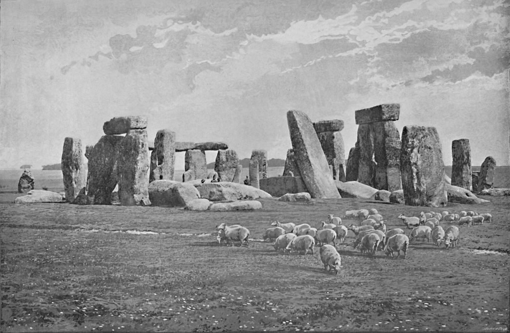 Stonehenge', 1944. From Pictorial England and Wales.