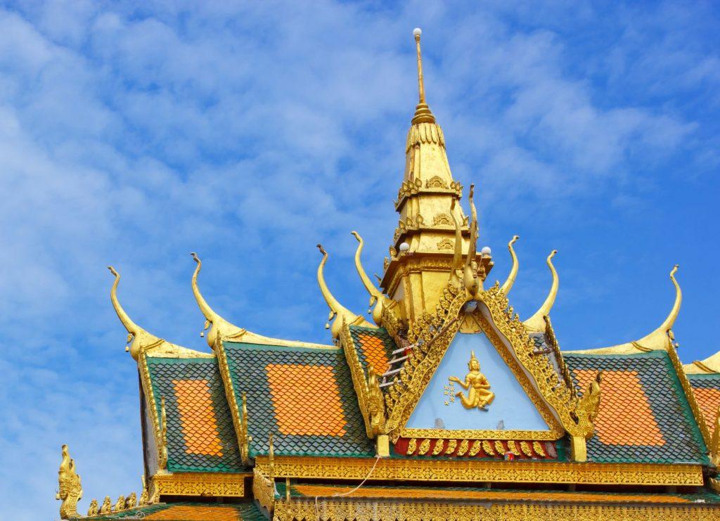 Amazing view of Wat Leu in Sihanoukville, Cambodia