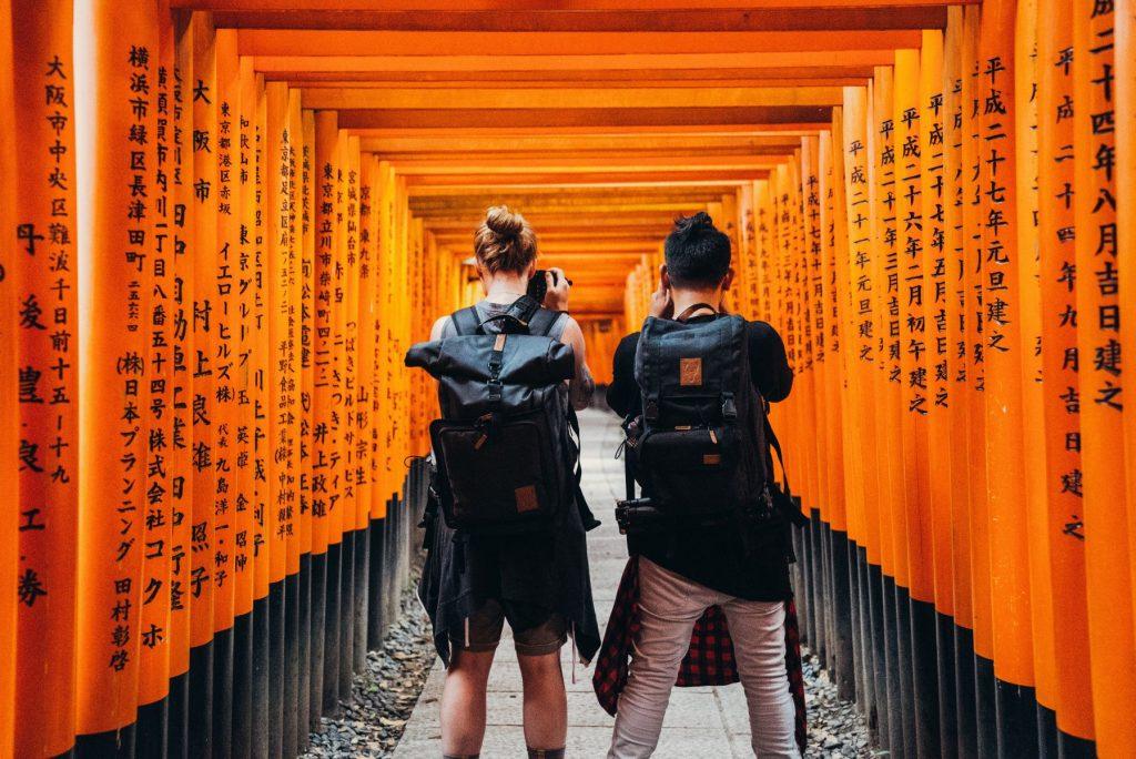 Backpackers, Japan