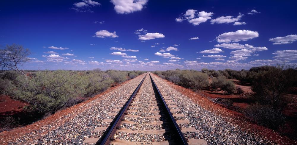 South Australia railway line