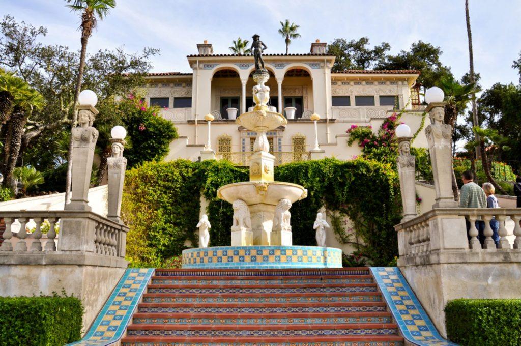 Casa del Sol, a guest house at the Hearst Castle, San Simeon, CA.