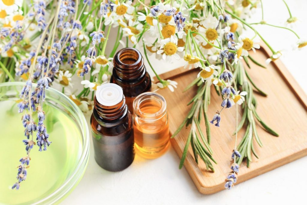 DIY lavender aroma crafting