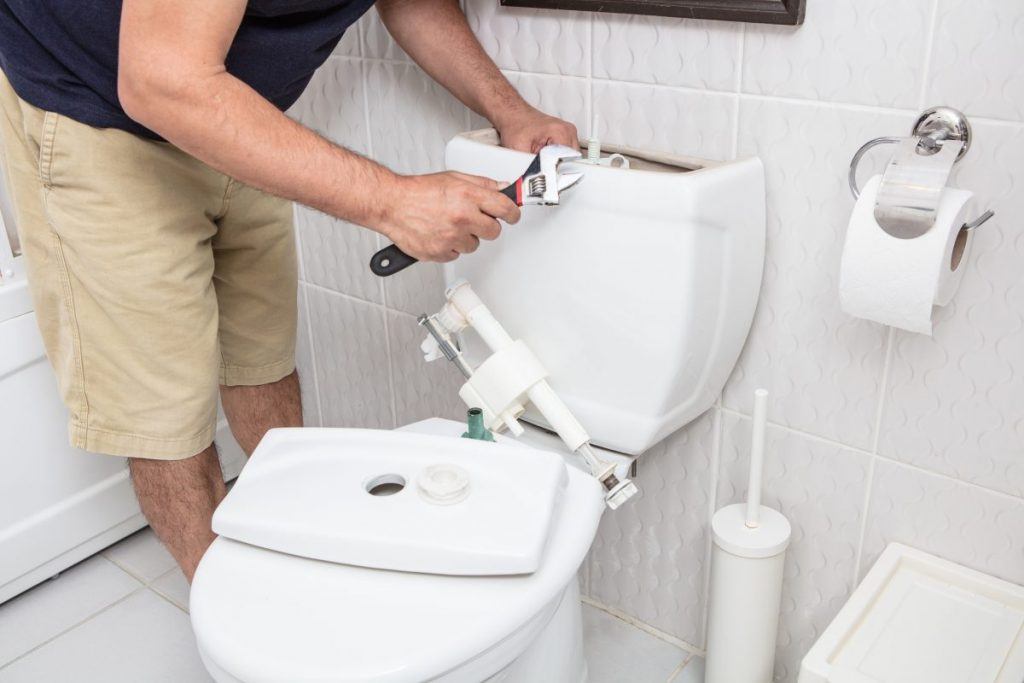 replace fill valve toilet
