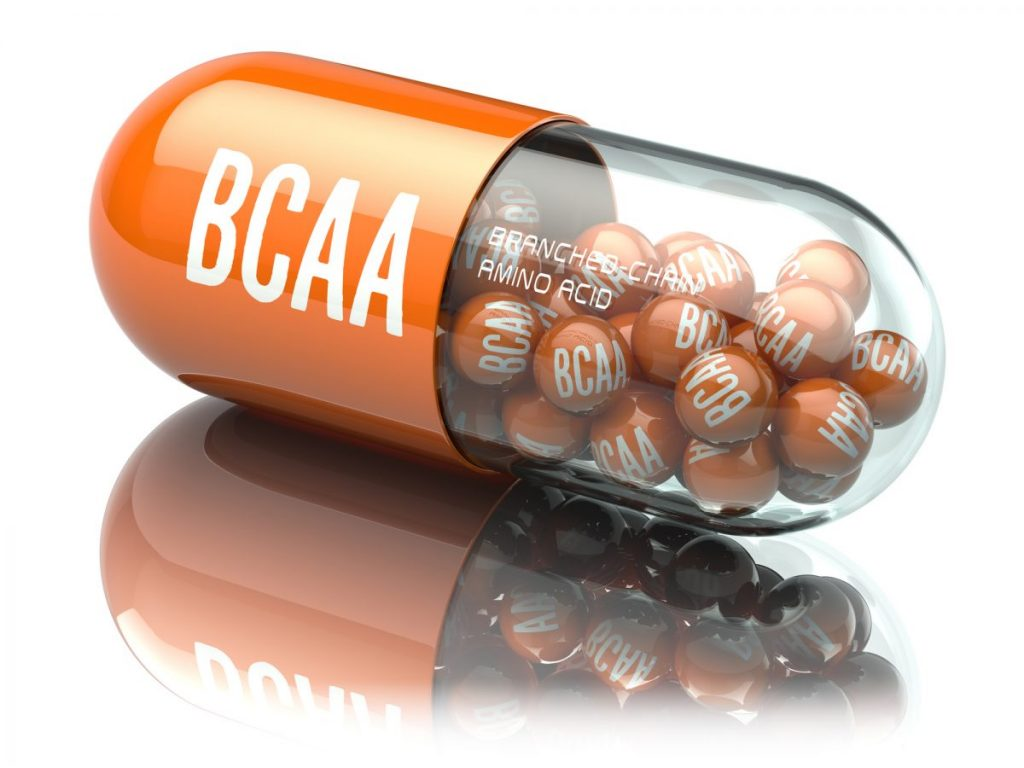 branched-chain amino acids capsule