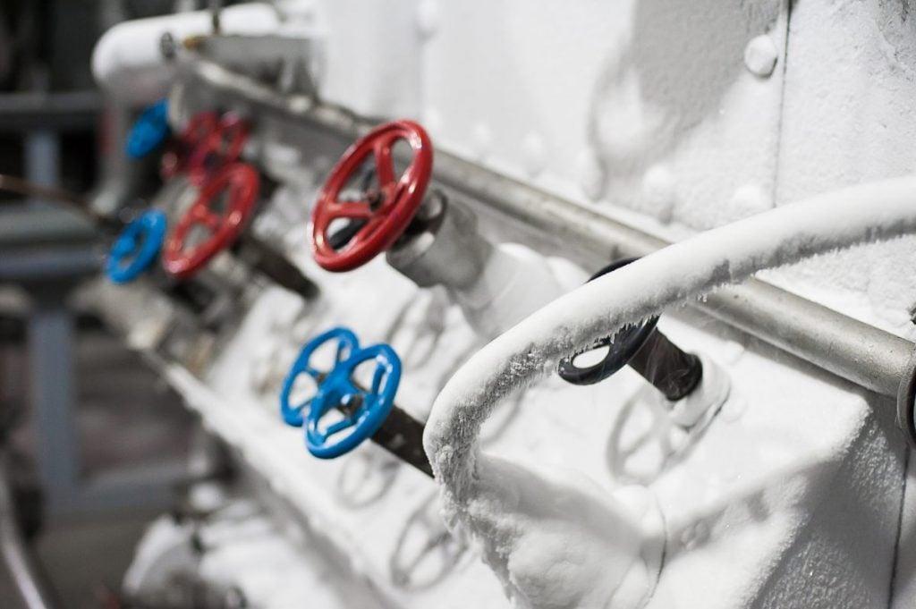 Bedford, frozen, dewars, aluminum pod
