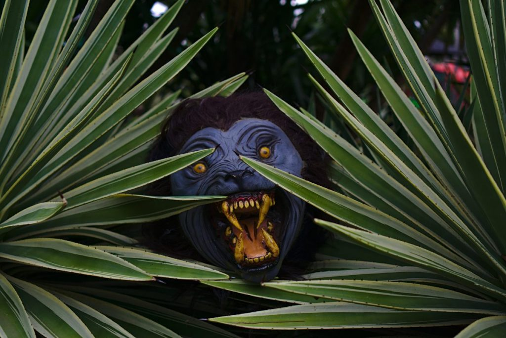 werewolf halloween decoration