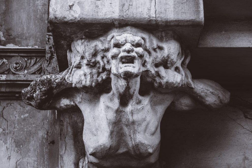 scary gargoyle