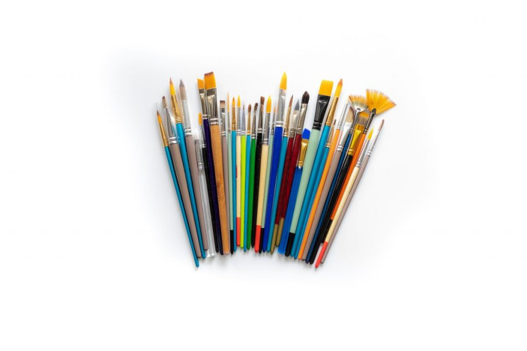 Shedding-bristles old-brushes