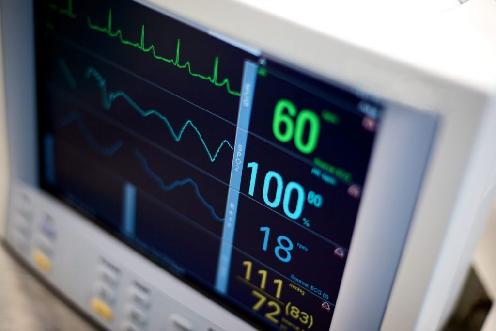 monitor heartrate beats