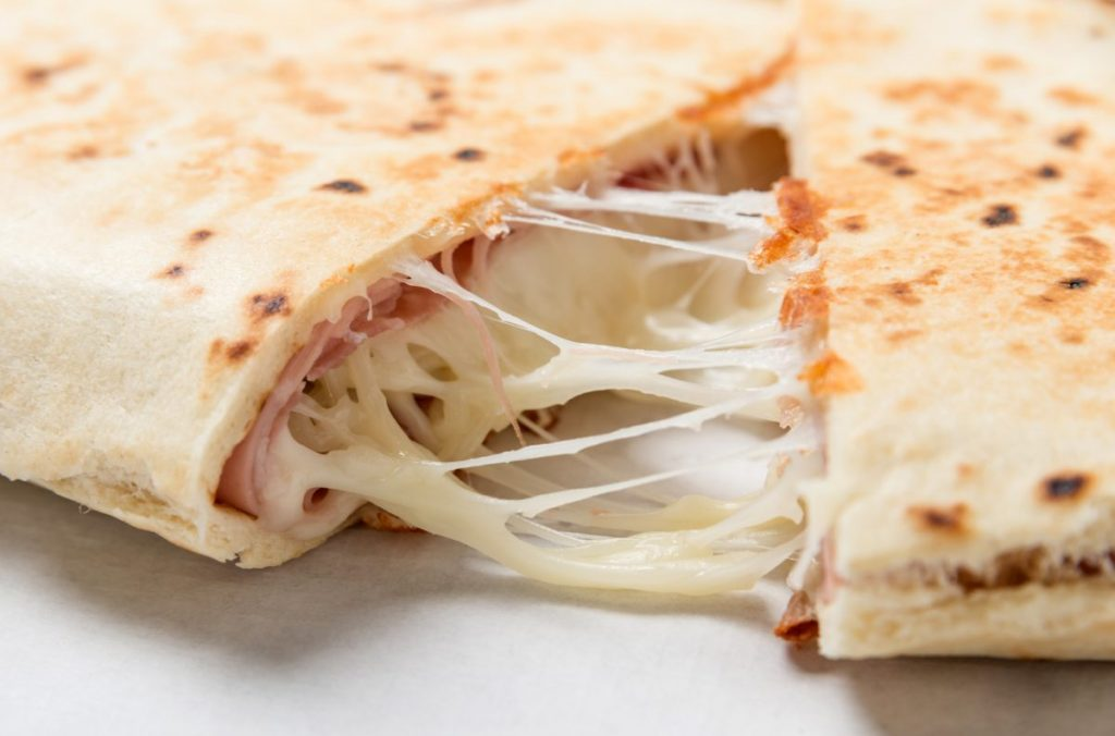 ham cheese quesadilla