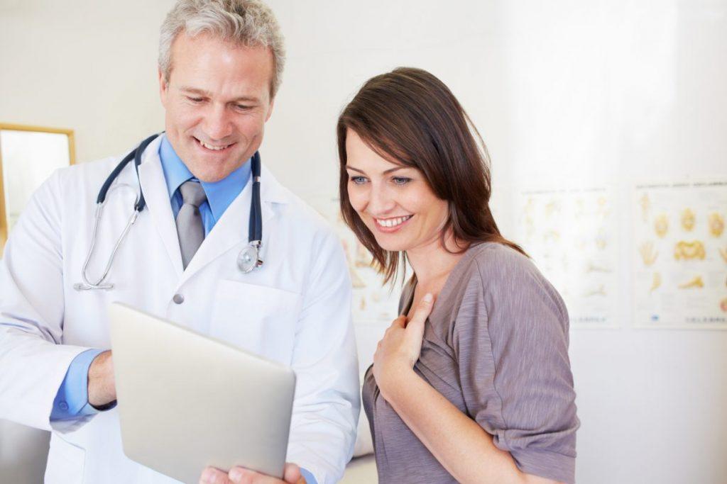 doctor healthy good news