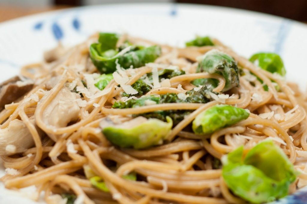 pasta brussels sprouts