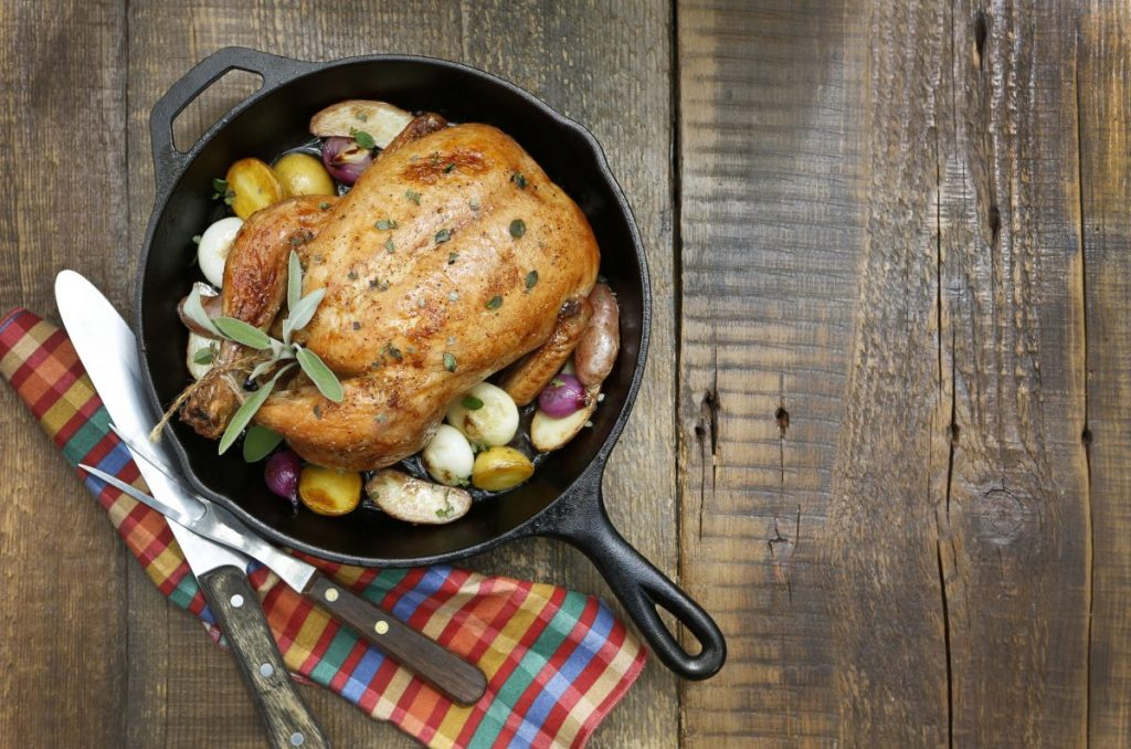 cast iron cookware meals