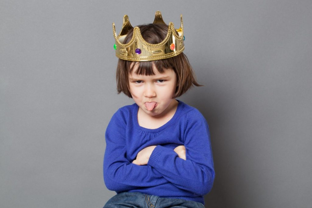 spoiled child emperor syndrome