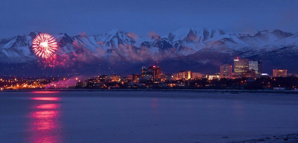 Anchorage City Fireworks