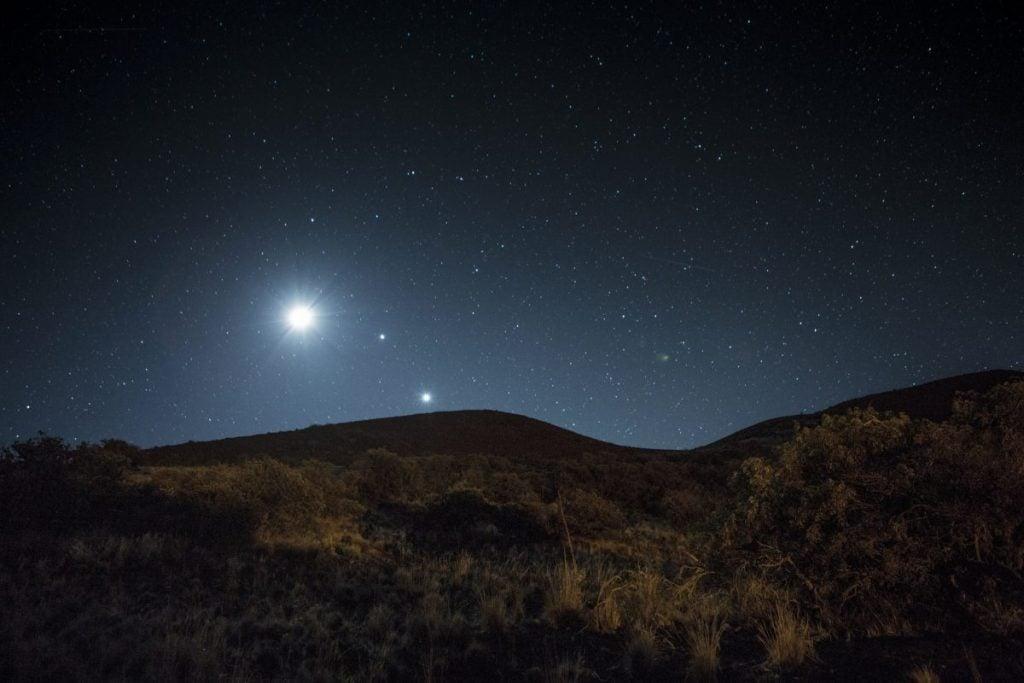 Venus in the sky