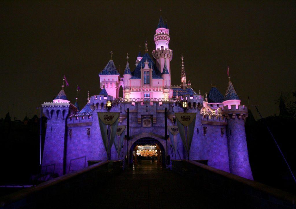 Disneyland Anaheim Castle