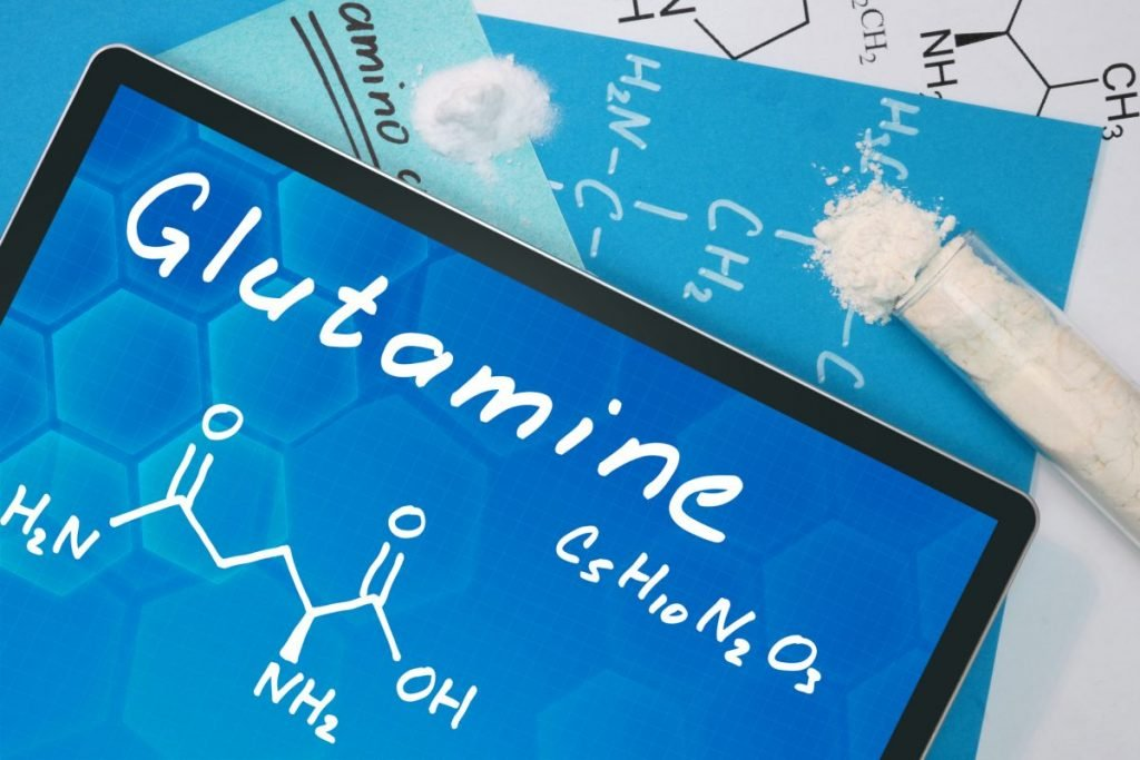 glutamine chemical formula supplement