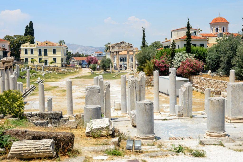 ancient roman agora athens
