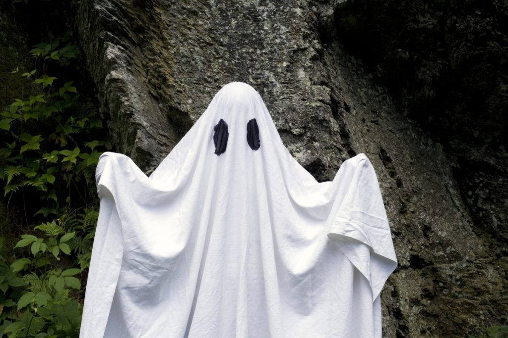 ghost ghosting costume