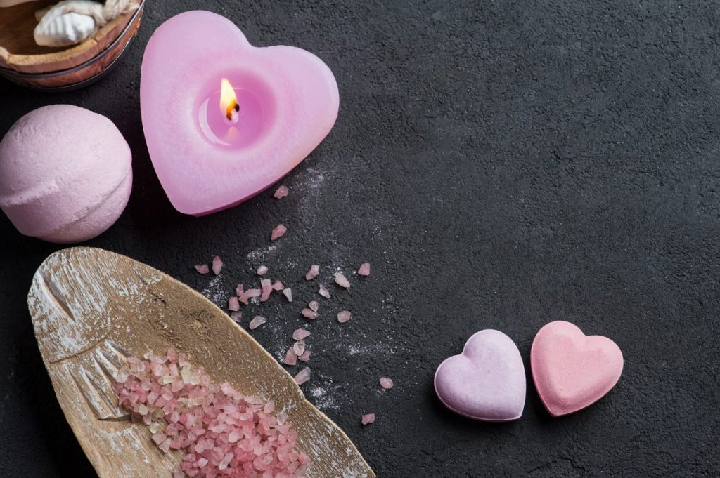 heart, pink, Valentine's day, sprinkles