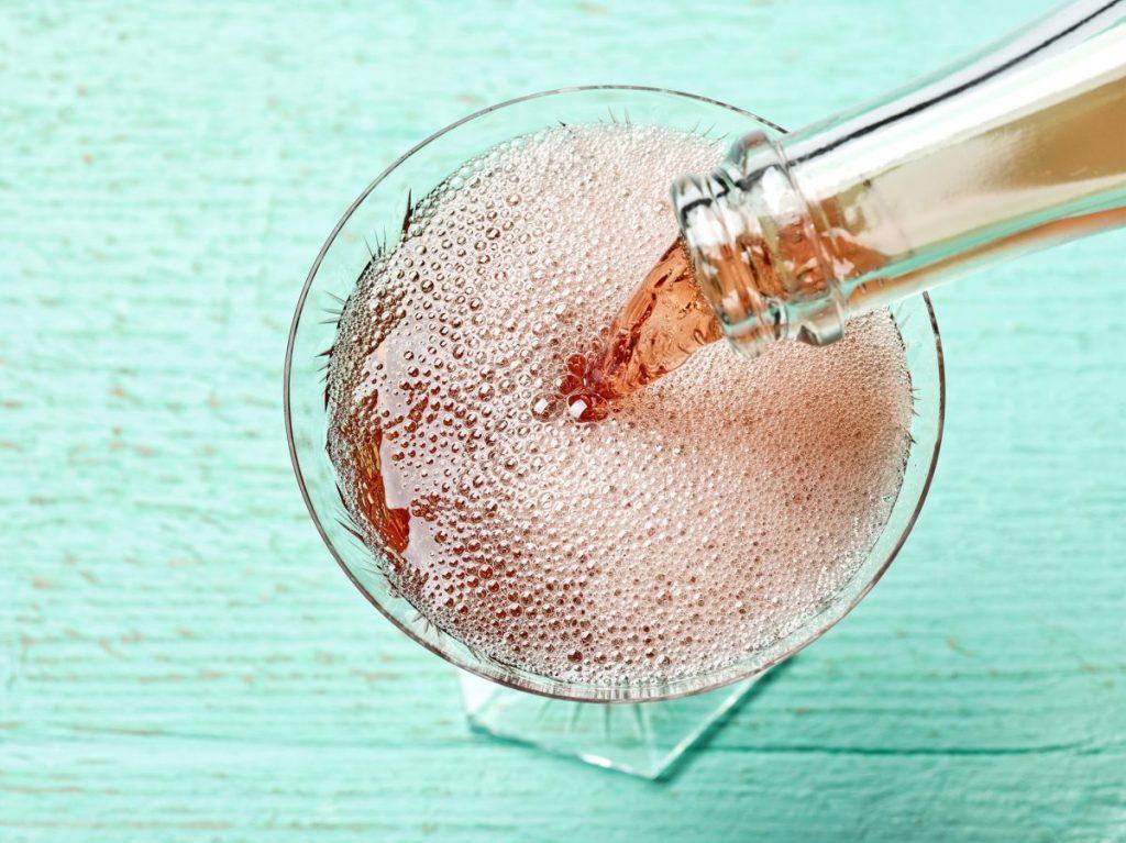 soda water sparkling wine