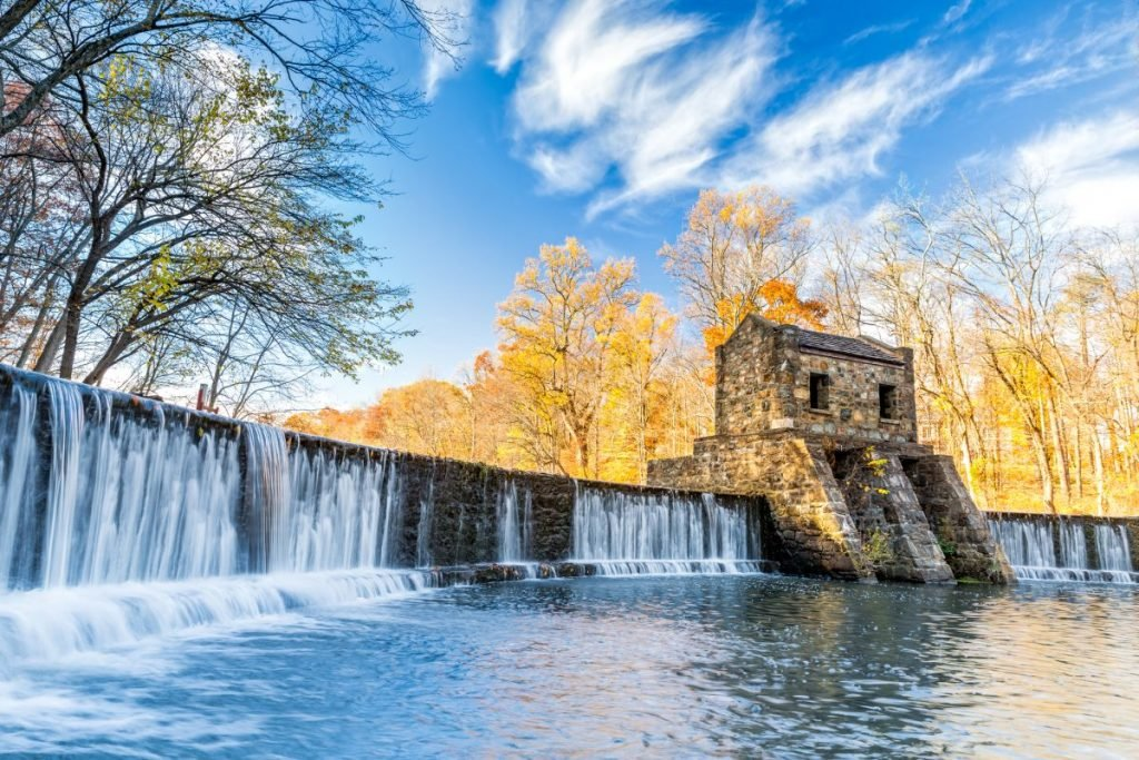 speedwell dam waterfall morristown