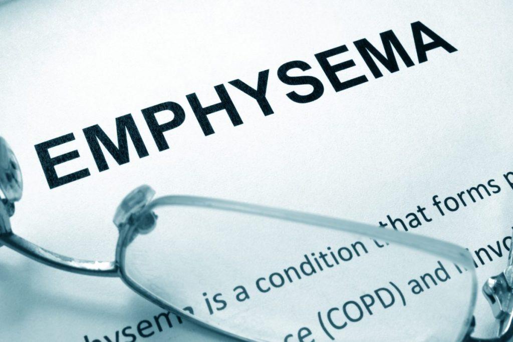 COPD Emphysema Oxygen