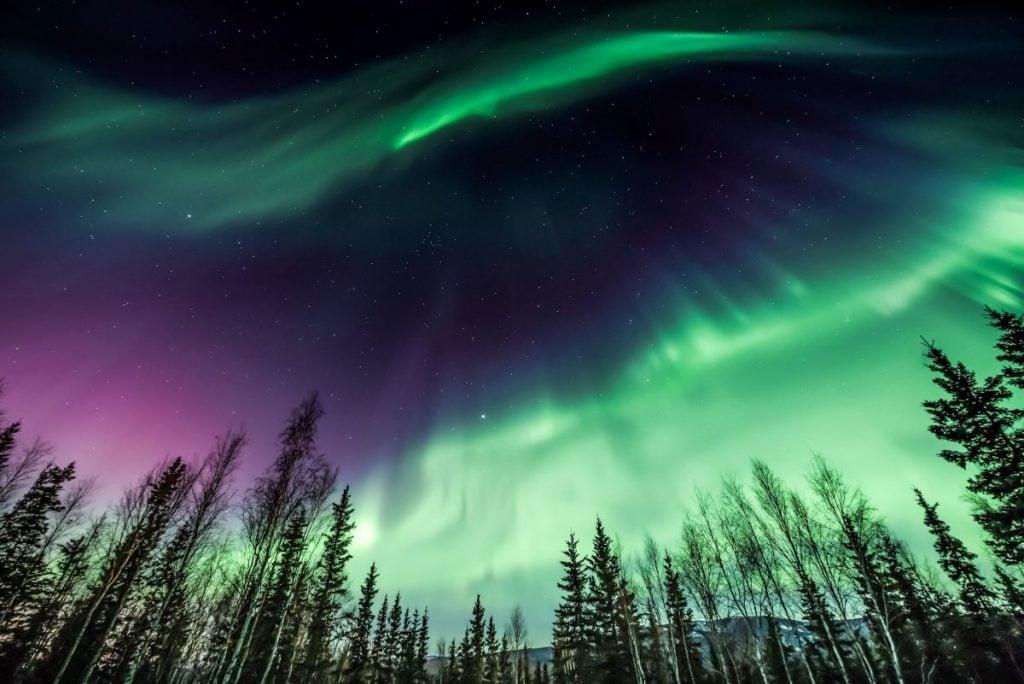 Norther Lights Fairbanks Alaska