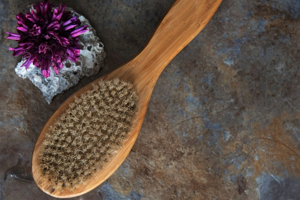 garshana dry brushing toxin release