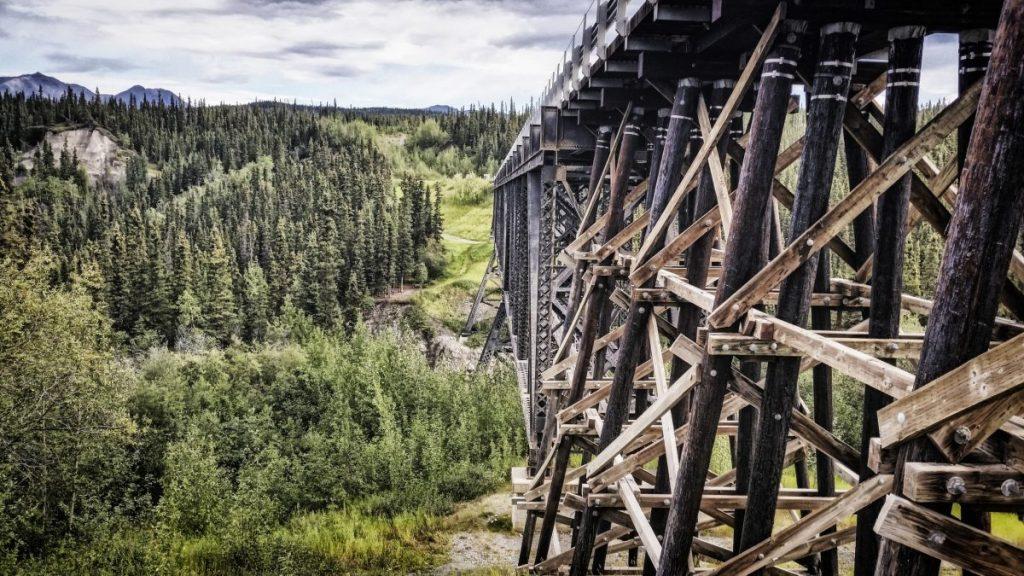 Kuskulana Bridge Alaska