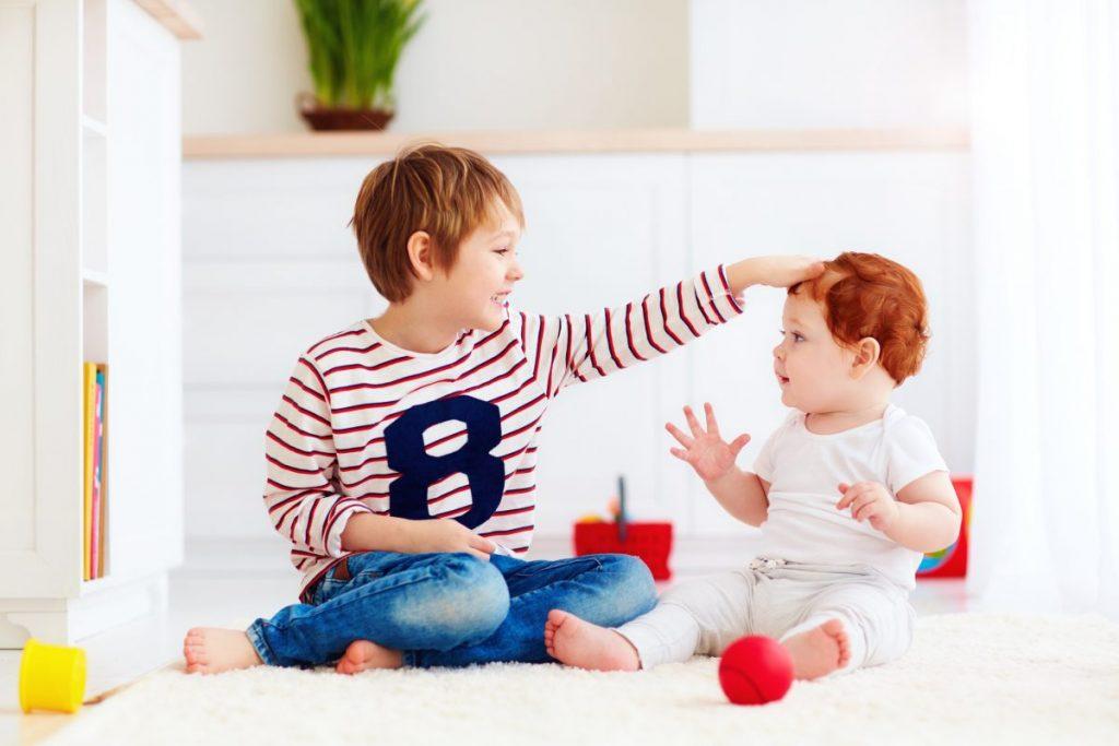 first born children playful