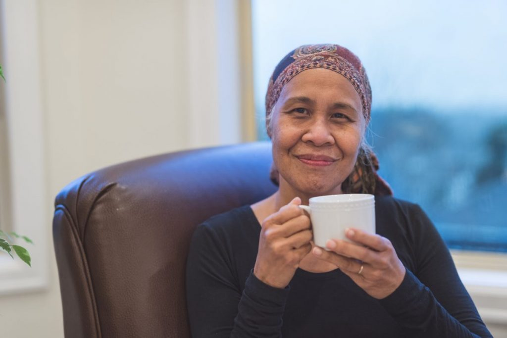 cancer patient warm drink