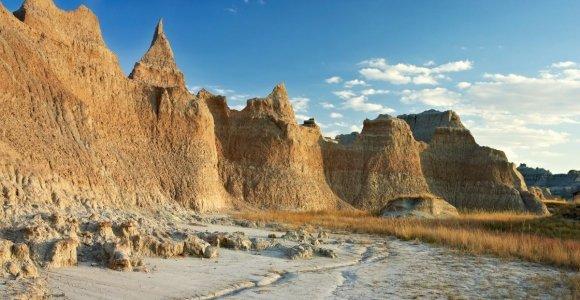 The Bizarre, Colorful Badlands