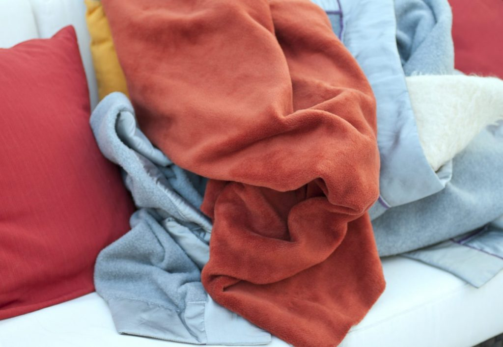 fabric breathable blankets