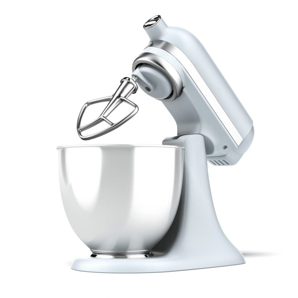 Stand mixer, paddle attachment