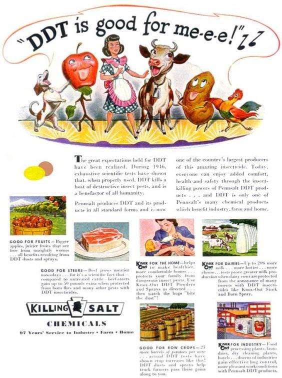 DDT vintage ad