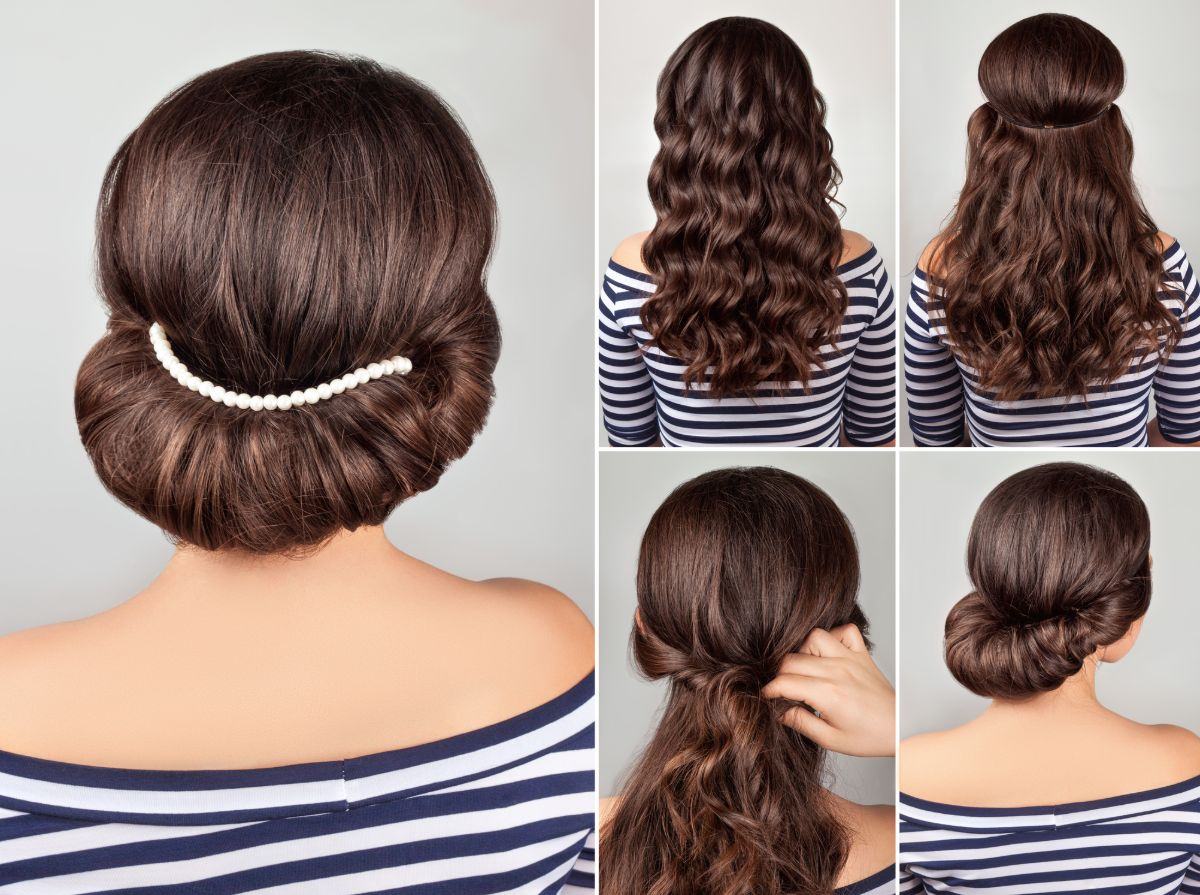 greek hairstyle tutorial