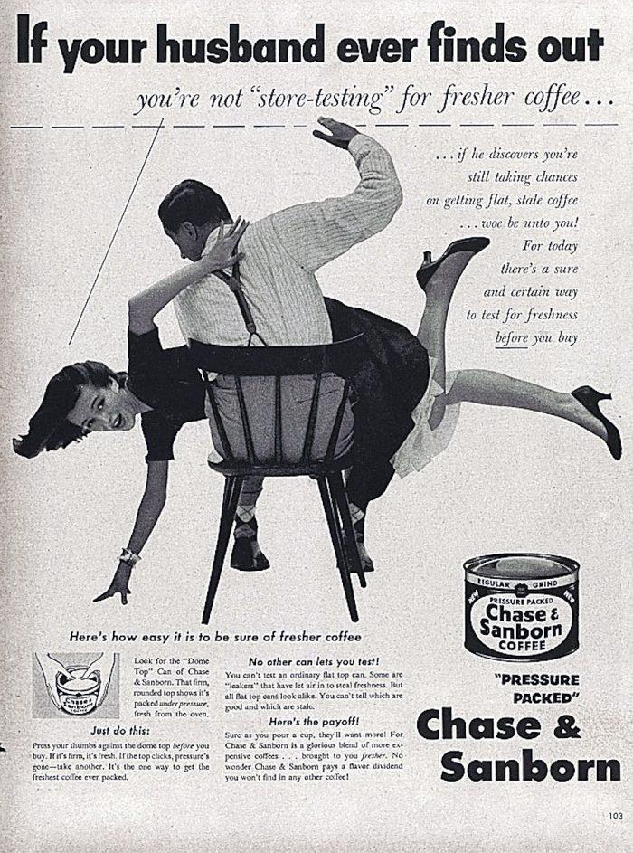 Vintage coffee ad