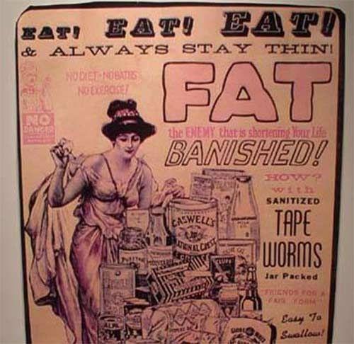 Vintage diet ad