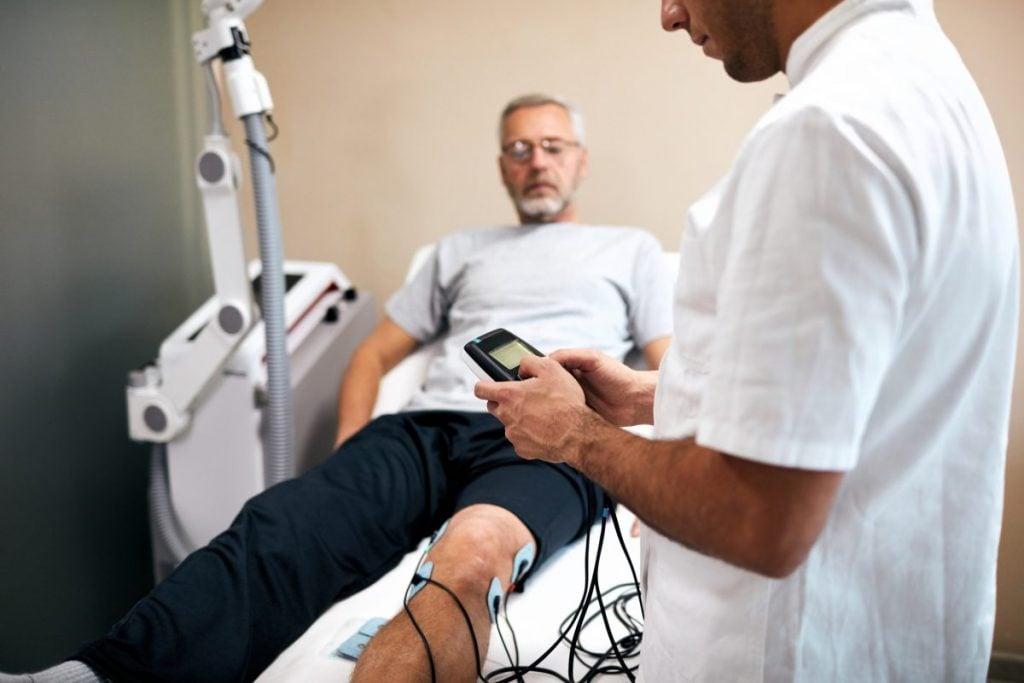 epidural, TENS unit, electrodes, electric current
