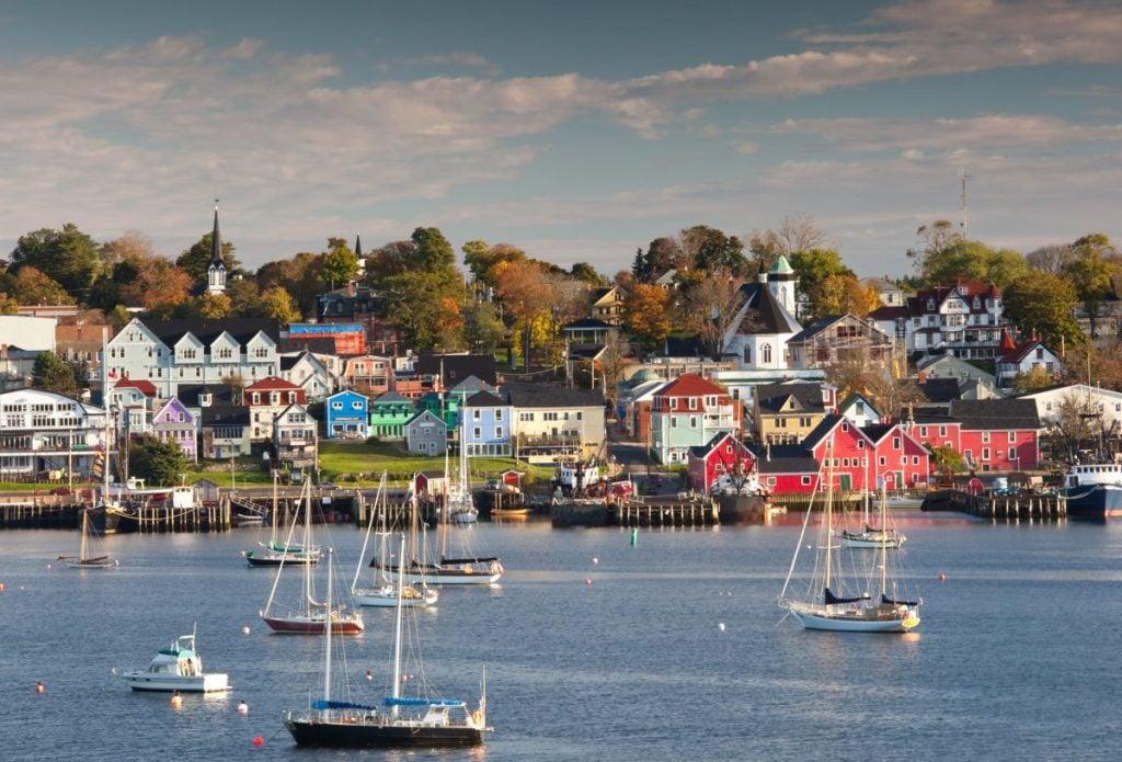 Canadian maritime provinces coastal