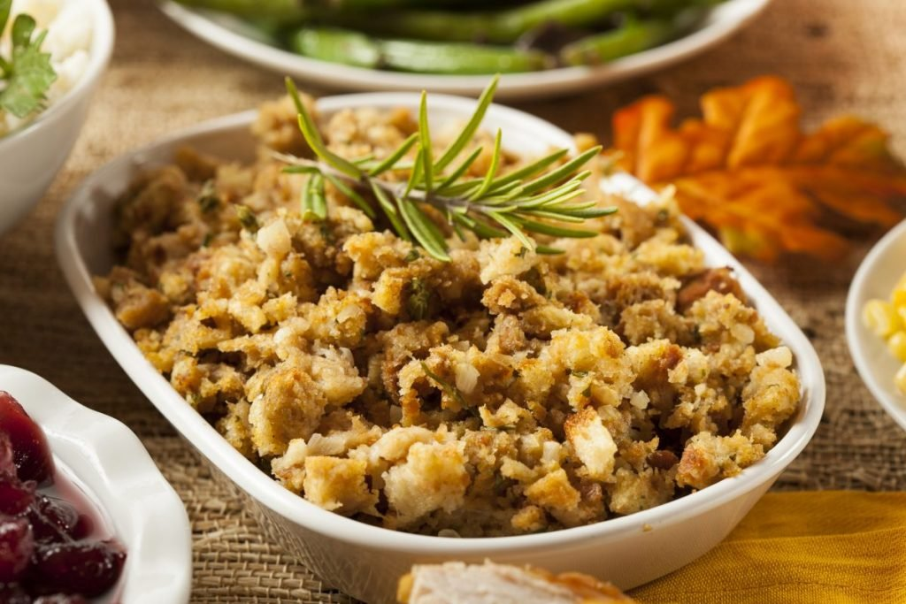 stuffing baking dish