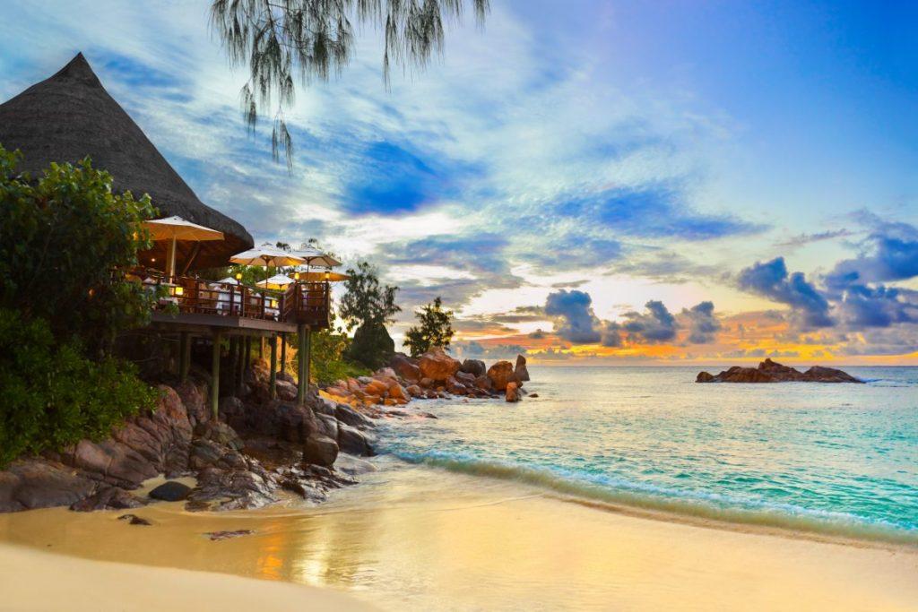 East Africa Seychelles coast