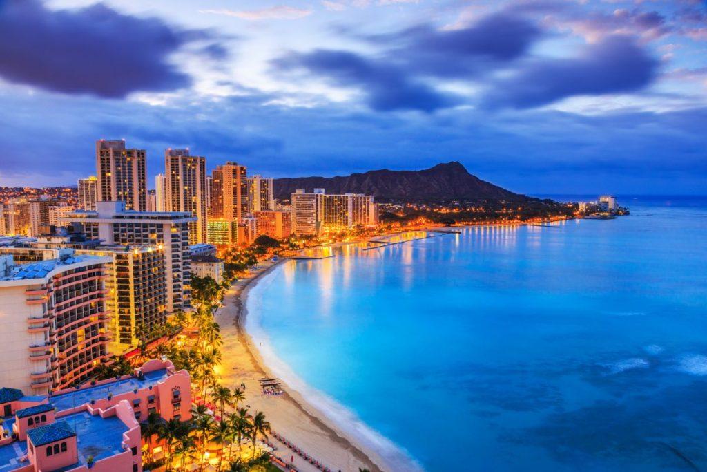 Hawaii tropical destinations honolulu