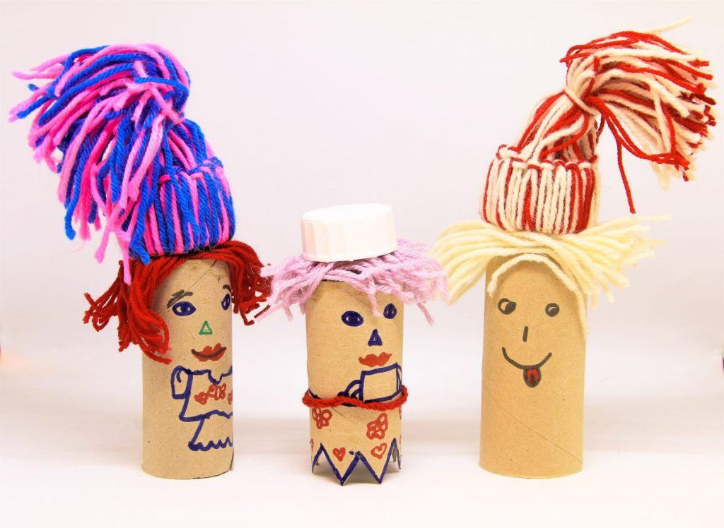 toilet paper roll figures