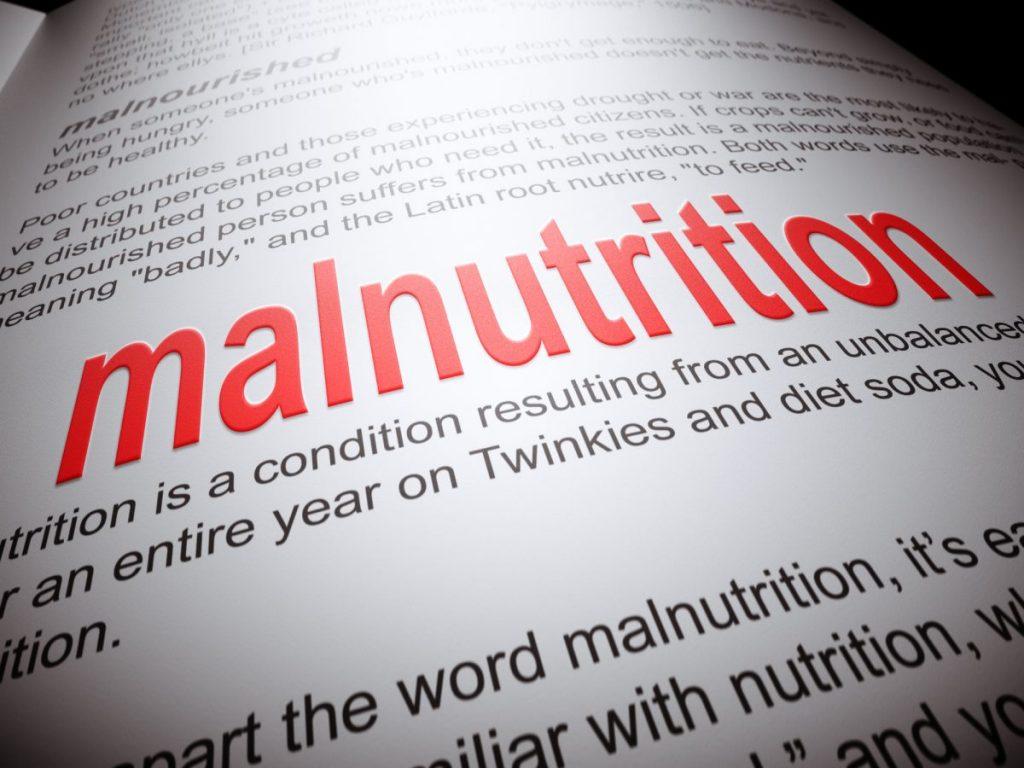 Symptoms Malnourished Nutrients