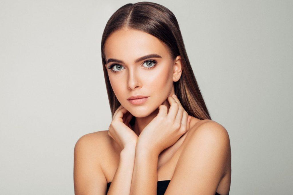 woman beautiful skin