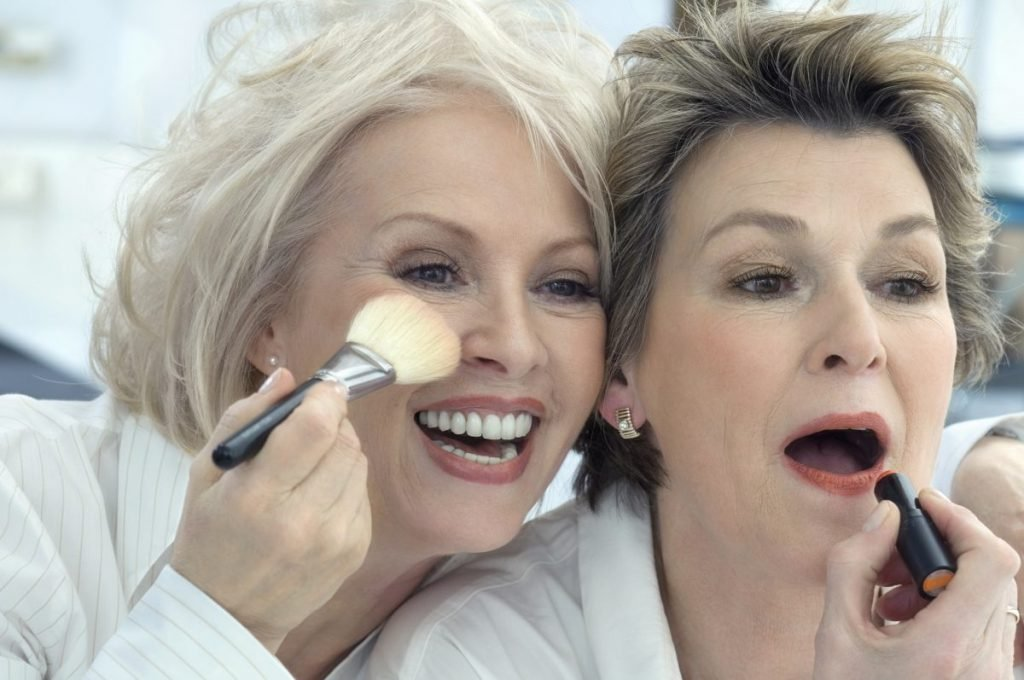 Lipstick for older women