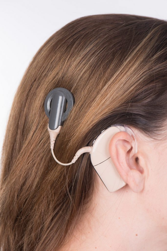 Hearing aid cochlear implants surgery